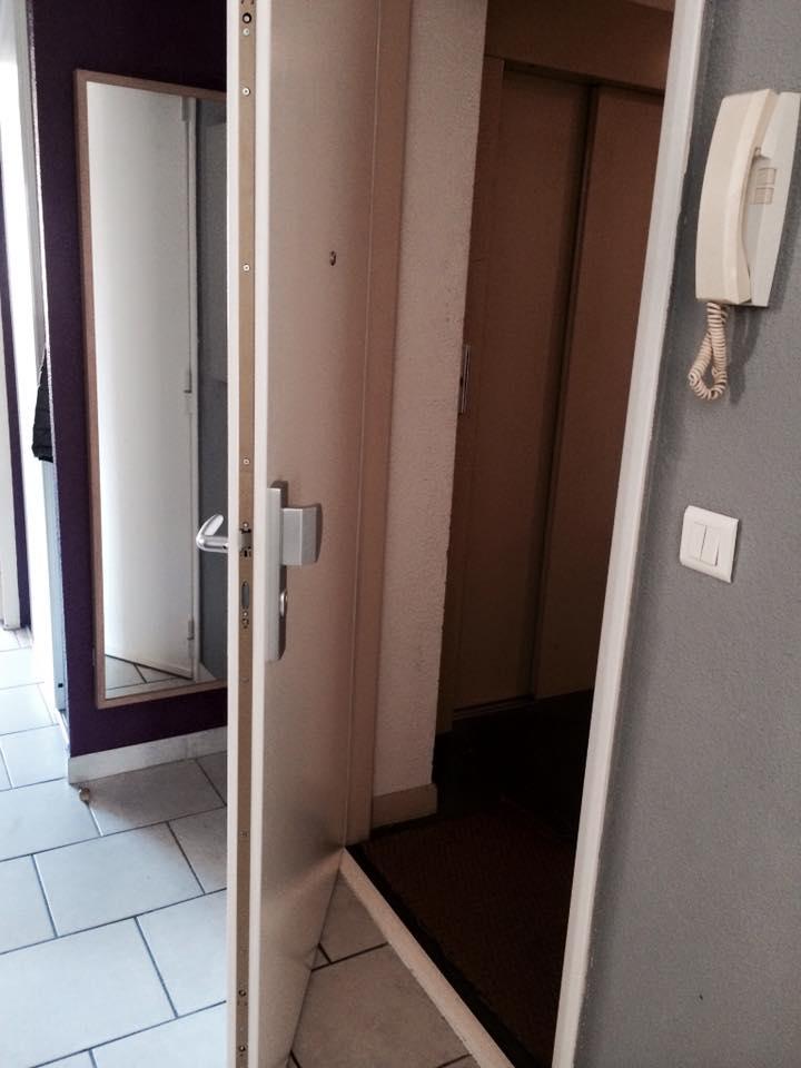 ouverture porte blindé